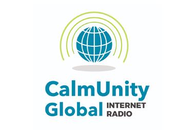 The CalmUnity Global Internet Radio logi
