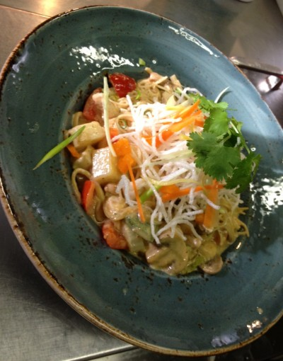 Curried Noodle Bowl