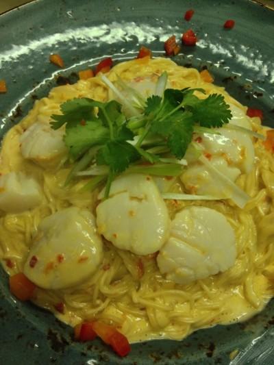 Coconut Chili Noodles