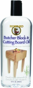 howard butcher block and cutting board oil