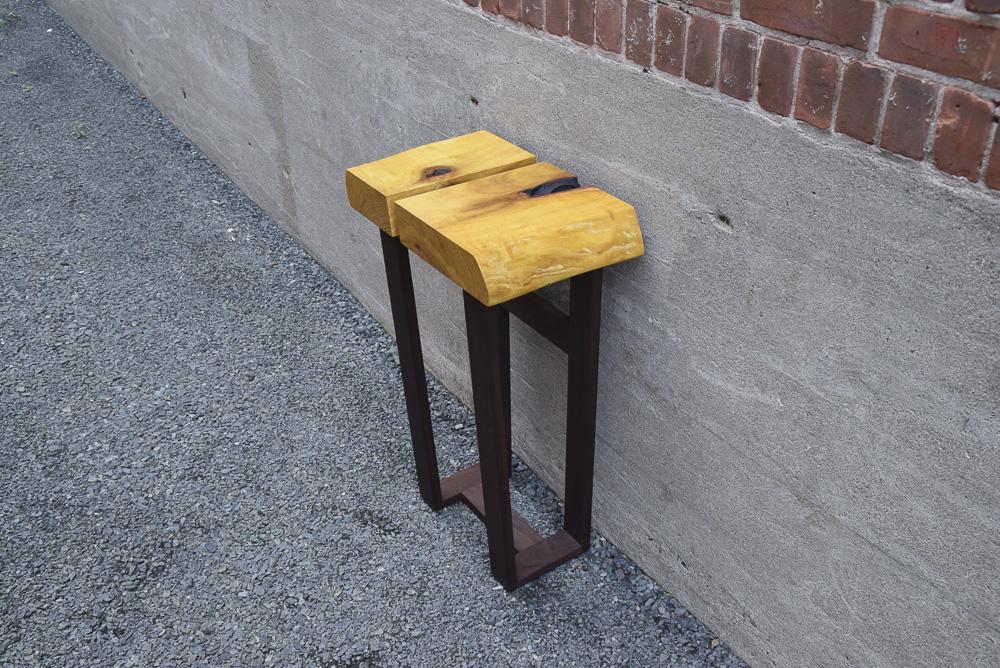 osage orange side table
