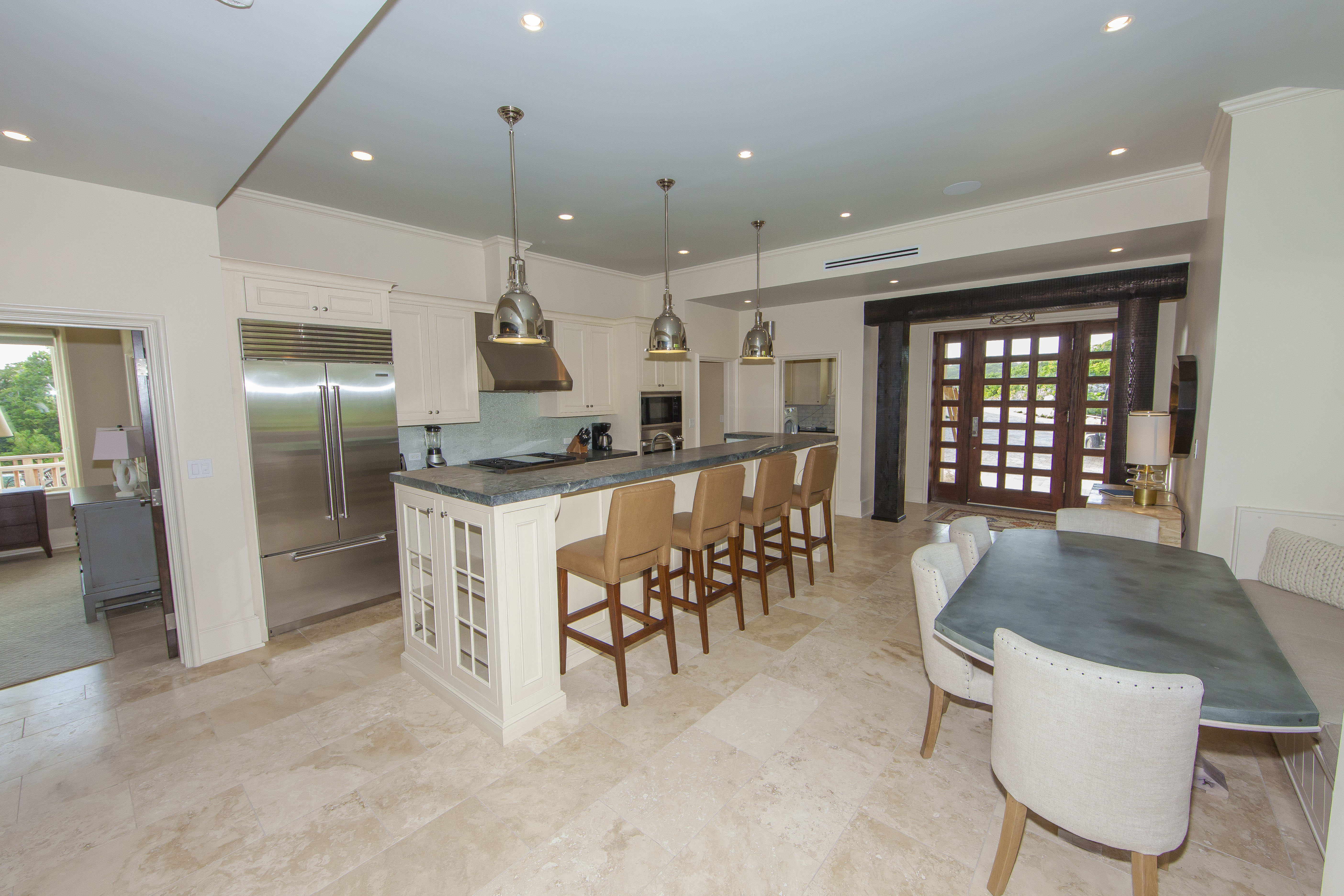 Upper Kitchen/Dining Area