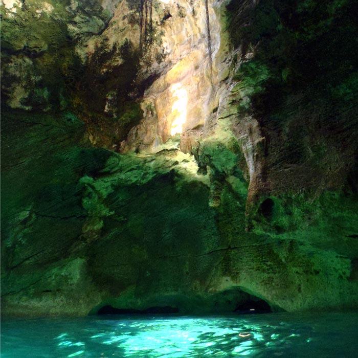 Thunderball Grotto Exumas Islands Bahamas