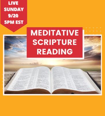 Meditative Scripture Reading