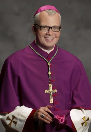 Bishop Donald J. Hying portrait 11x14-