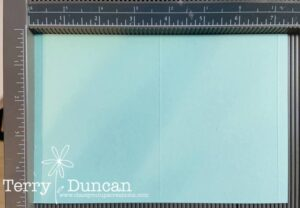 "Four Fold Card Tutorial for 8-1/2"" x 11"" Cardstock."