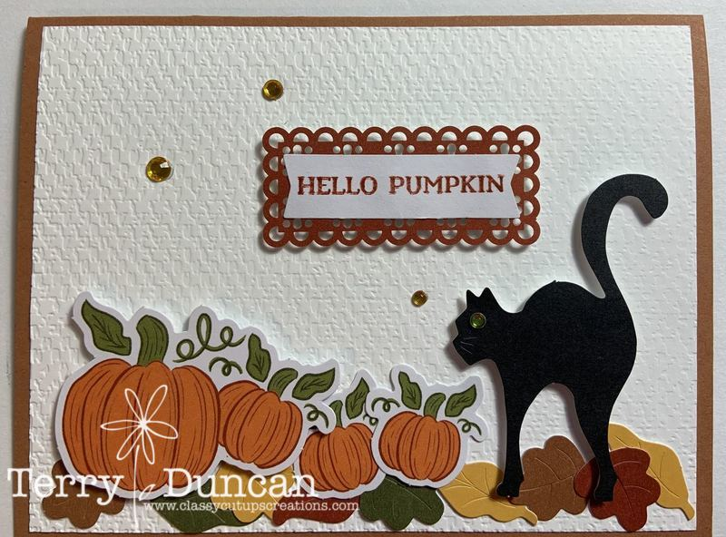Hello Pumpkin Kit from Stampin' Up!