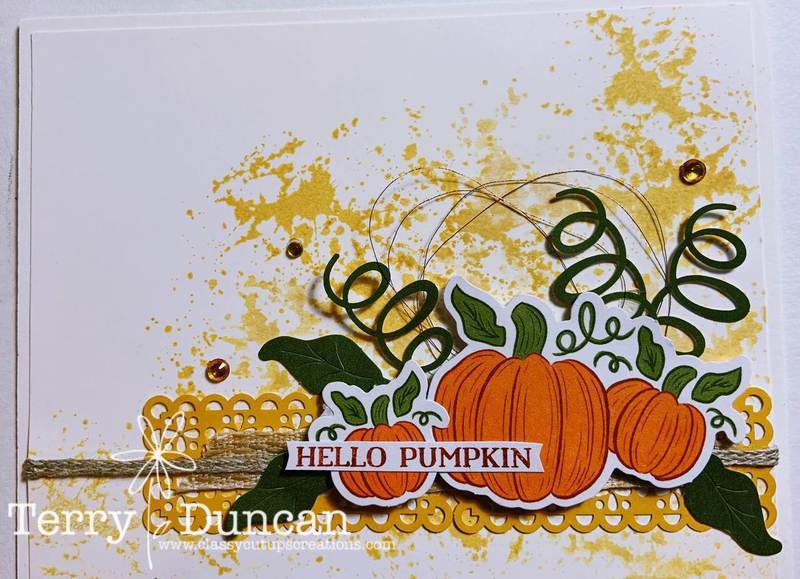 Hello, Pumpkin Kit from Stampin' Up!