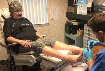 geriatric foot care