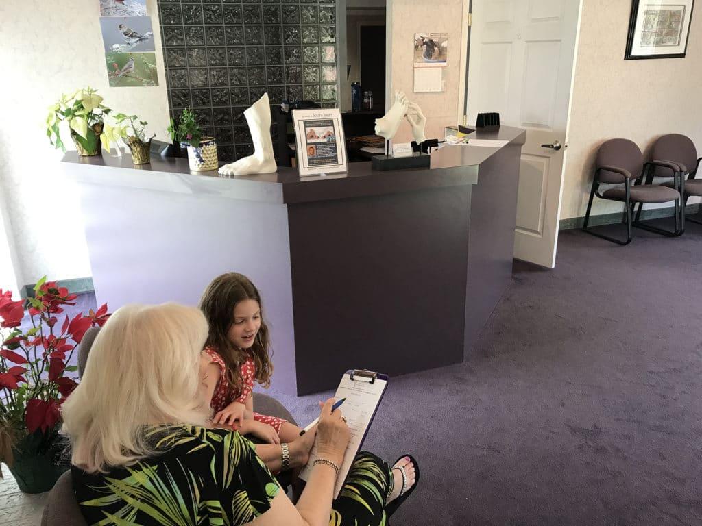 pediatric office consultation