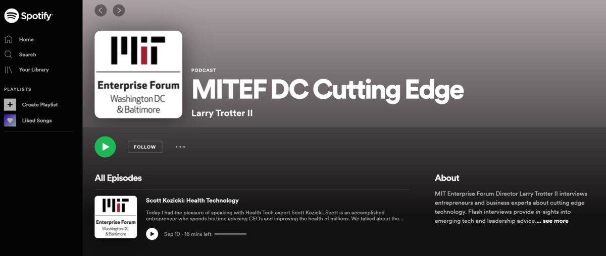 Cutting Edge: Health Tech