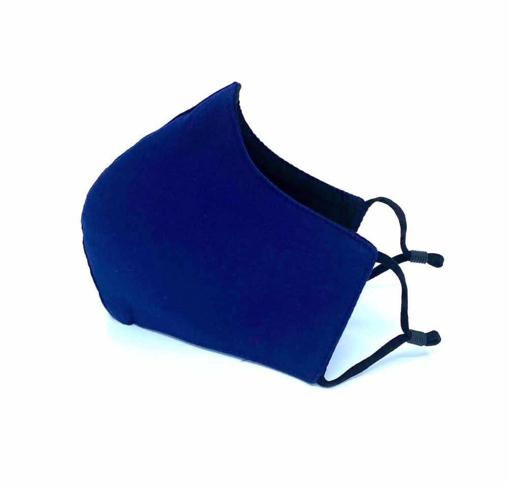 Navy Blue Reusable Face Mask