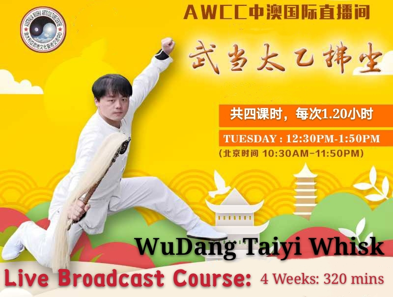 Wudang Taiyi whisk  <br> 4 lessons:320mins