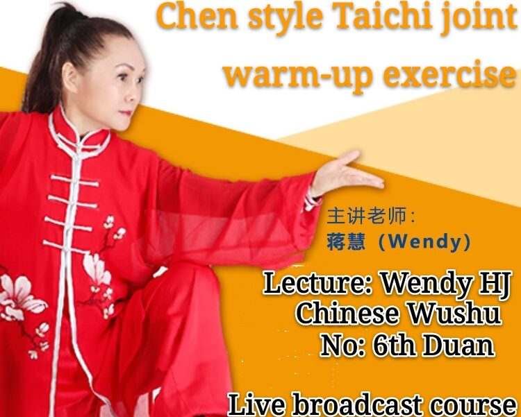 Tai Chi Joint warm-up exercise<br>English/Chinese Bilingual education<br> Beginner course<br> 1 lesson-90mins