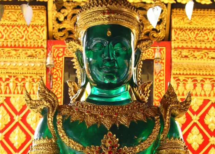 Khao San Road and the Emerald Buddha