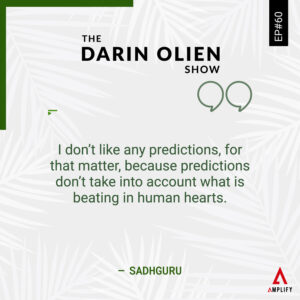 Quote: I don't like any predictions, for that matter, because predictions don't take into account what is beating in human hearts.