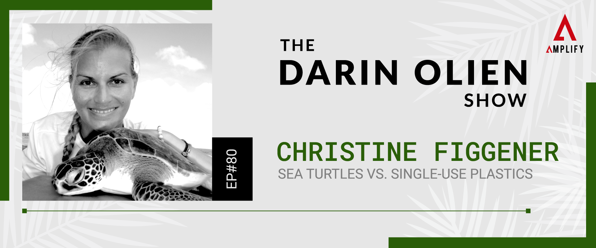 decorative image with the episode title and a picture of Christine Figgener