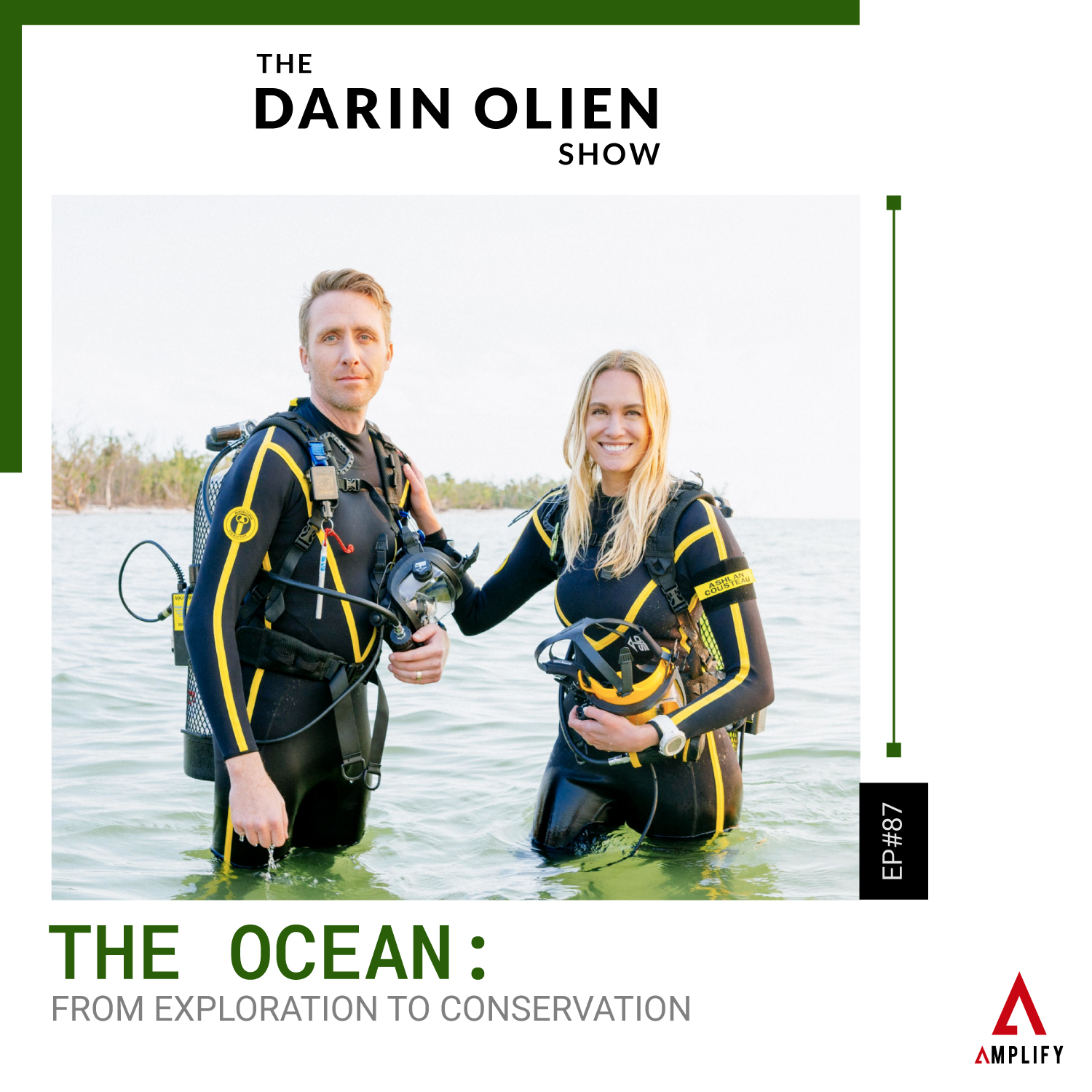 #87 The Ocean: From Exploration to Conservation | Philippe and Ashlan Cousteau