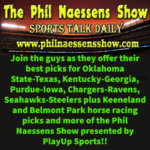 Picks for Oklahoma State-Texas, Friday Keeneland & Belmont Park Races, Seahawks-Steelers and More!!