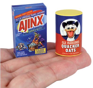 Ajinx & Quacker Oats