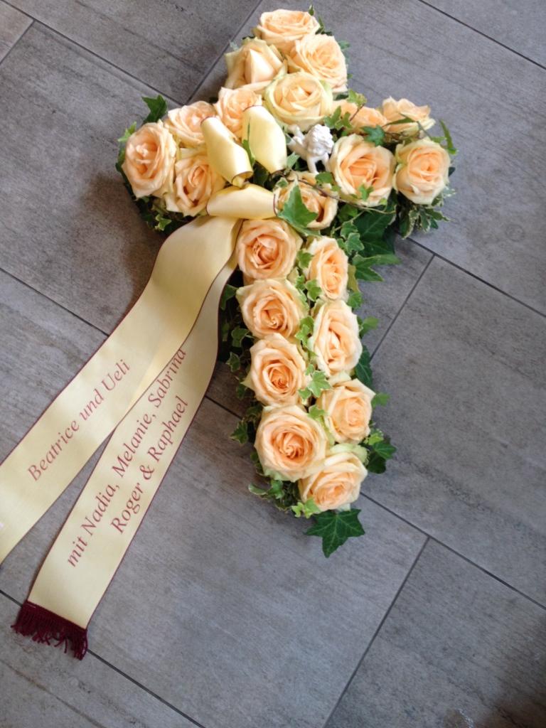 Blumengesteck für Abdankung