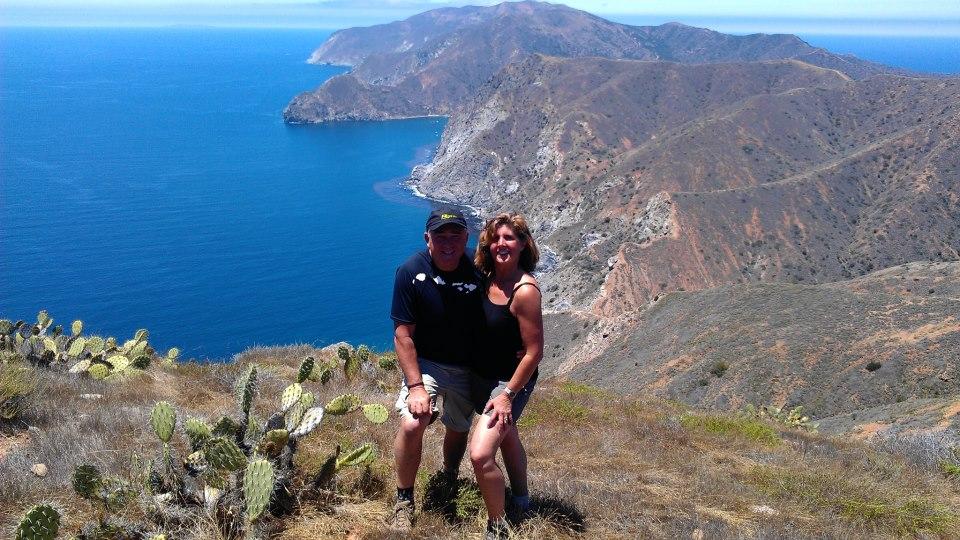 Bill and Karen Corson on Maui