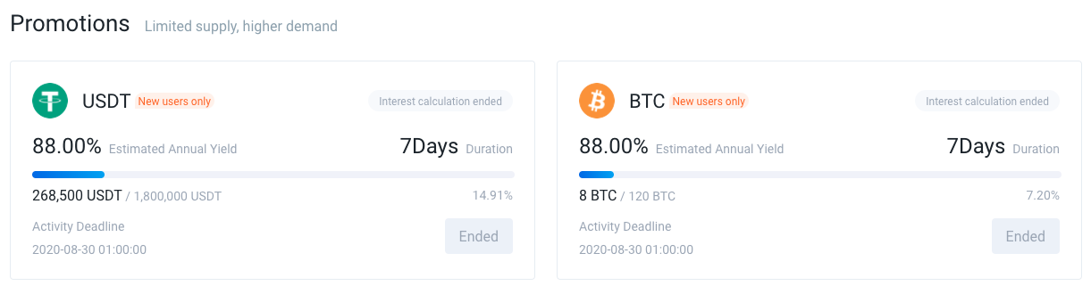 Huobi Crypto Savings