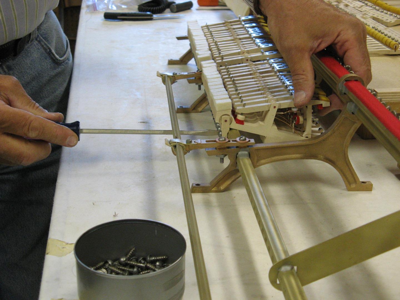 Installing new whippens