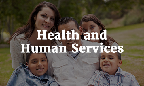 Health and Human Services.