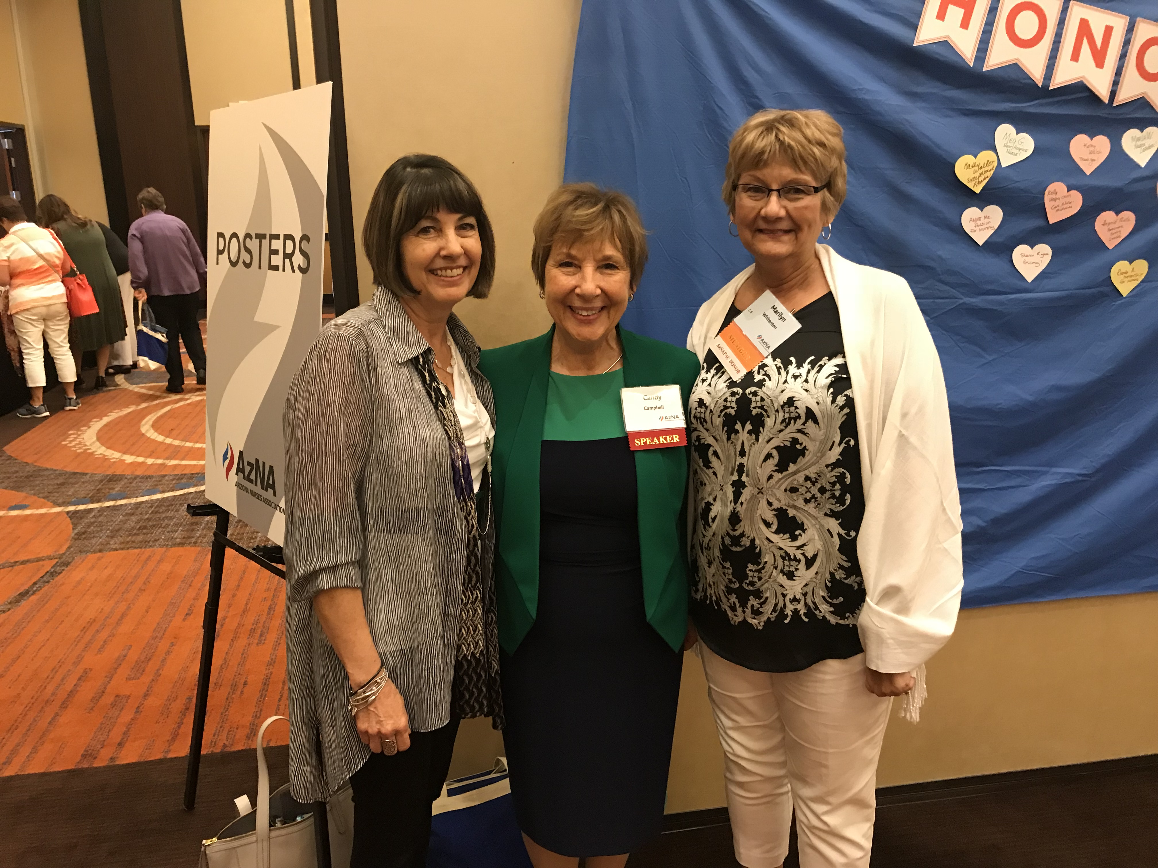Candy Campbell at AZNA Conference
