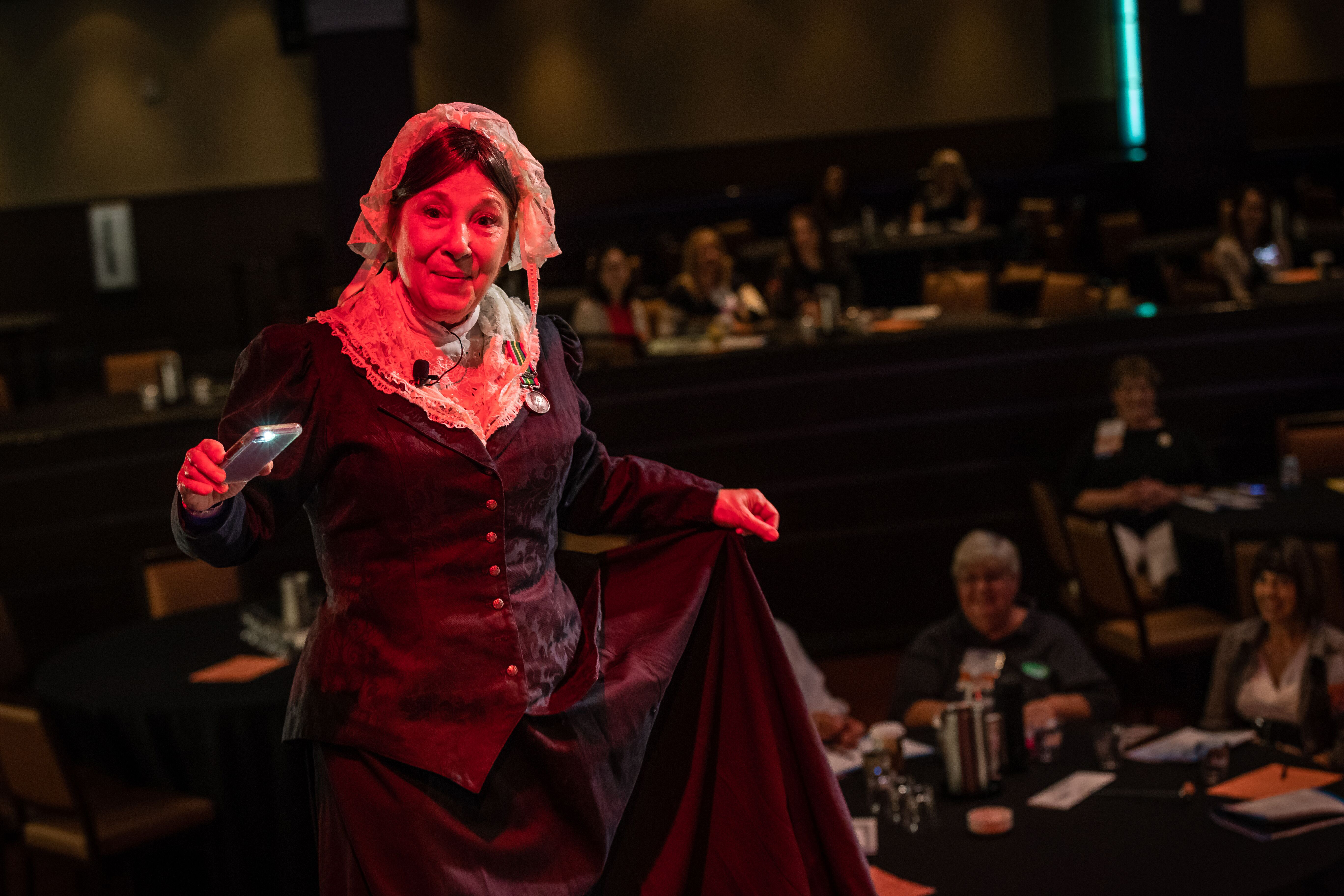 Florence Nightingale at De Anza College