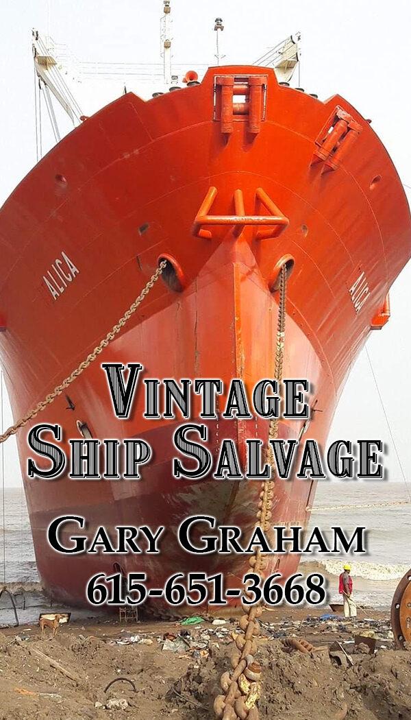 Vintage Ship Salvage
