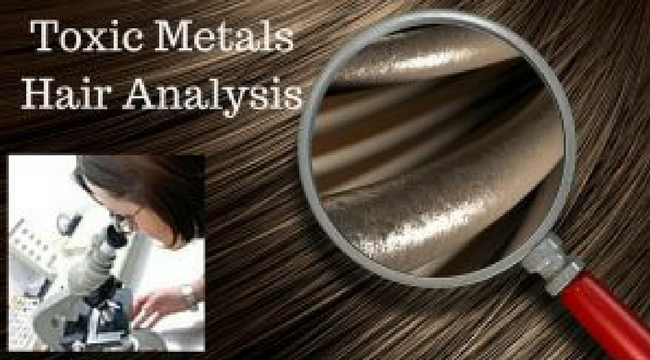 ARE YOU POISONED WITH MERCURY, LEAD, ALUMINUM OR OTHER TOXIC METALS? FIND OUT EASILY WITH A SIMPLE HAIR ANALYSIS TEST