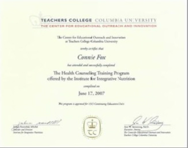 Teachers College Columbia University Diploma