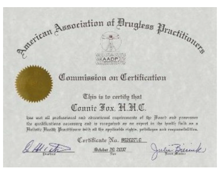 American Association of Drugless Practitioners Certification