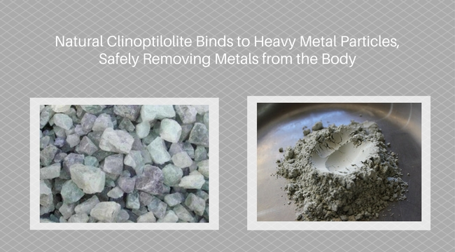REMOVE HEAVY METALS SAFELY AND PREVENT CELLULAR DAMAGE WITH ZEOLITE