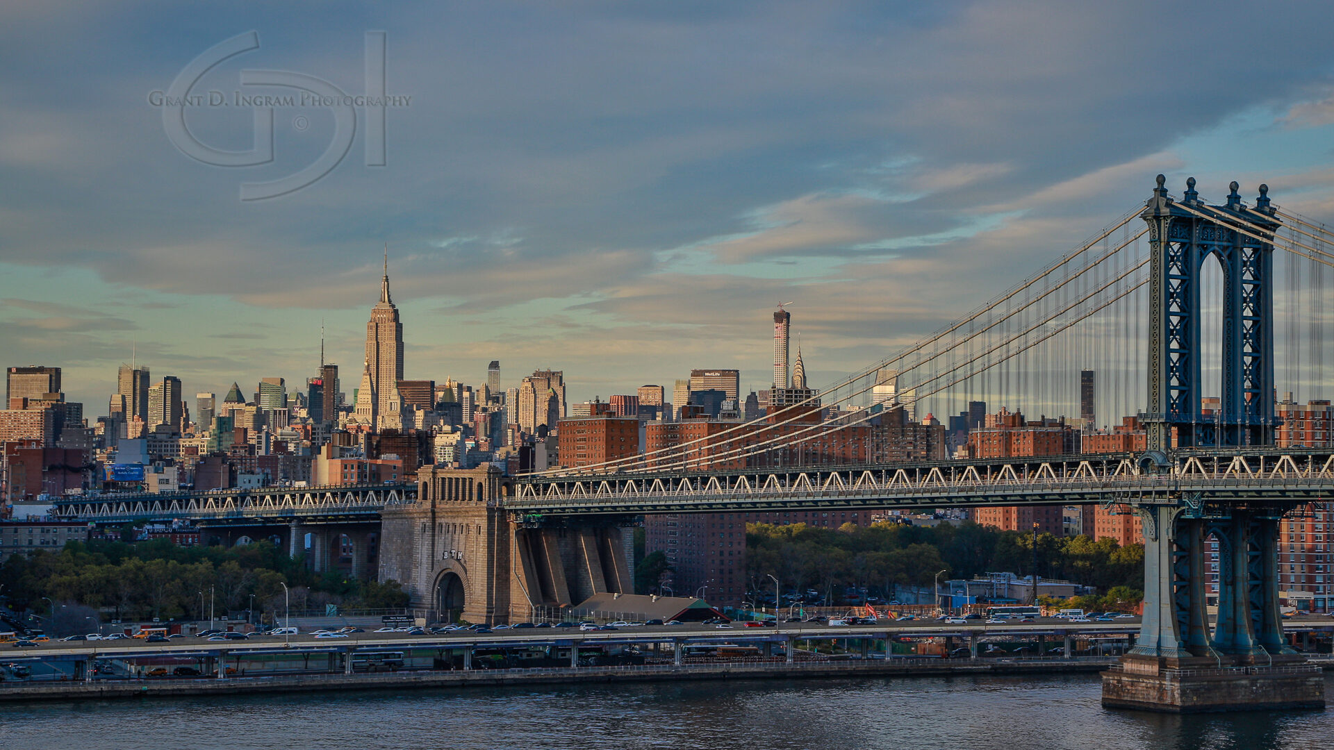 Brooklyn Bridge-Postcard-©
