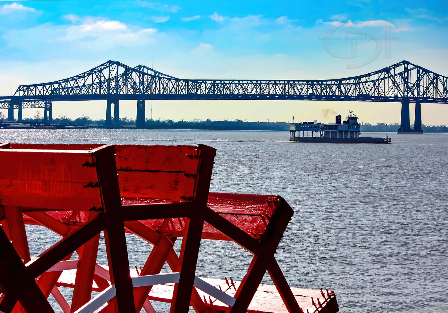 Paddle Boat Bridge-©