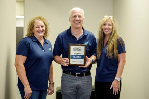Safety Award Pic