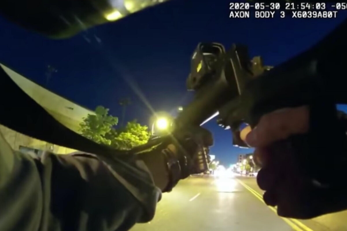 Minneapolis Police Celebrates Shooting Unarmed Protestors With Less Lethals