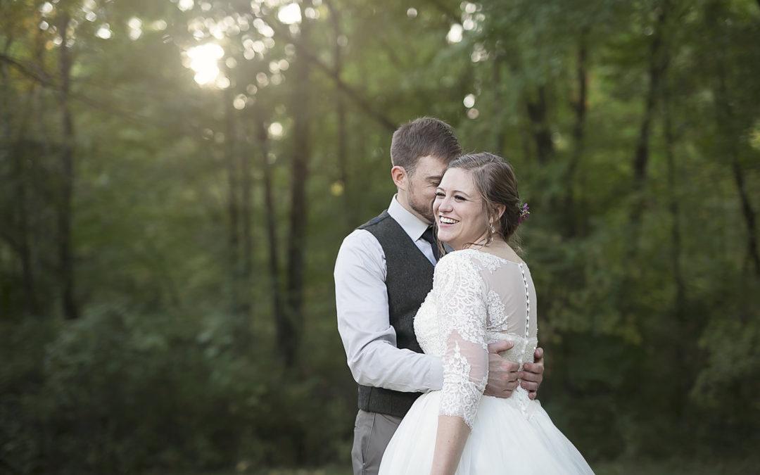 Meghan & Thomas   Woodland fairytale wedding   Jackson, MI