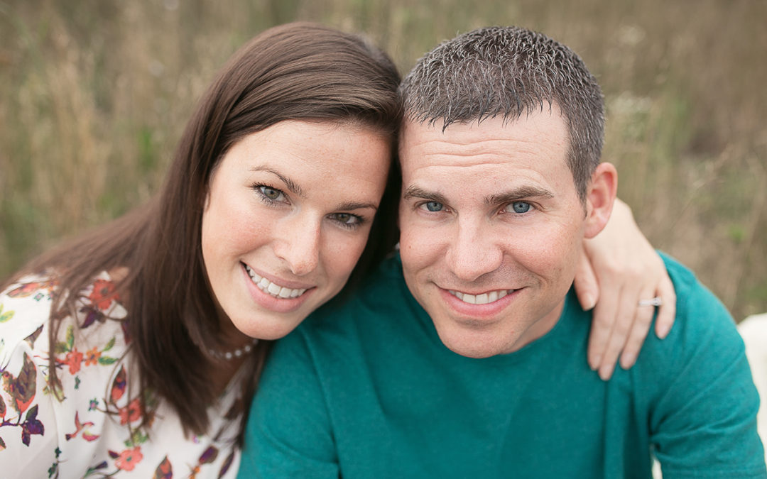 Maggie & Andy | Saucy Engagement session in Jackson, MI