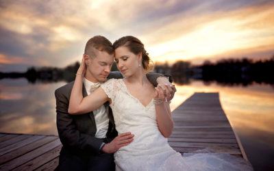 Wedding at The Pointe in Clark Lake, MI | Katrina & Greg