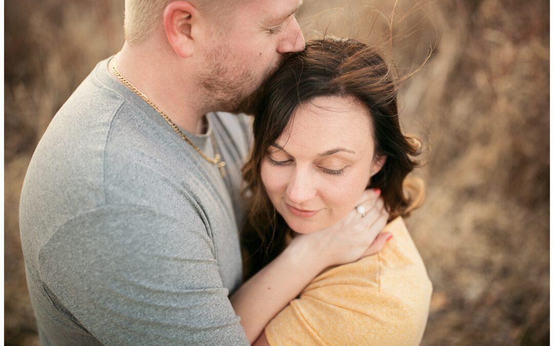 Hidden Lake Garden Engagement Photographer |Emily + Bobby| Tipton, MI