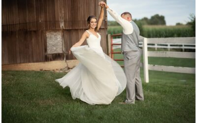 Hilltop Manor Inn Wedding Photographer | Sommerset MI | Iris & Brian