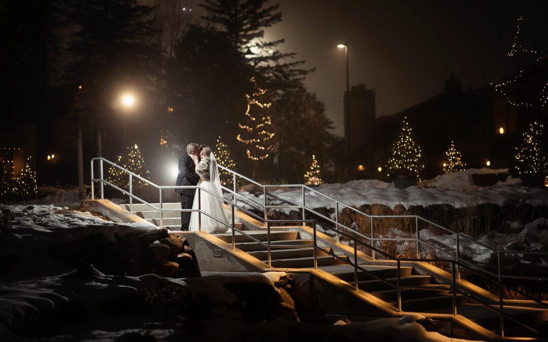 Crystal Mountain Ski Resort | Michigan Wedding Photographer | Paige & Stephen