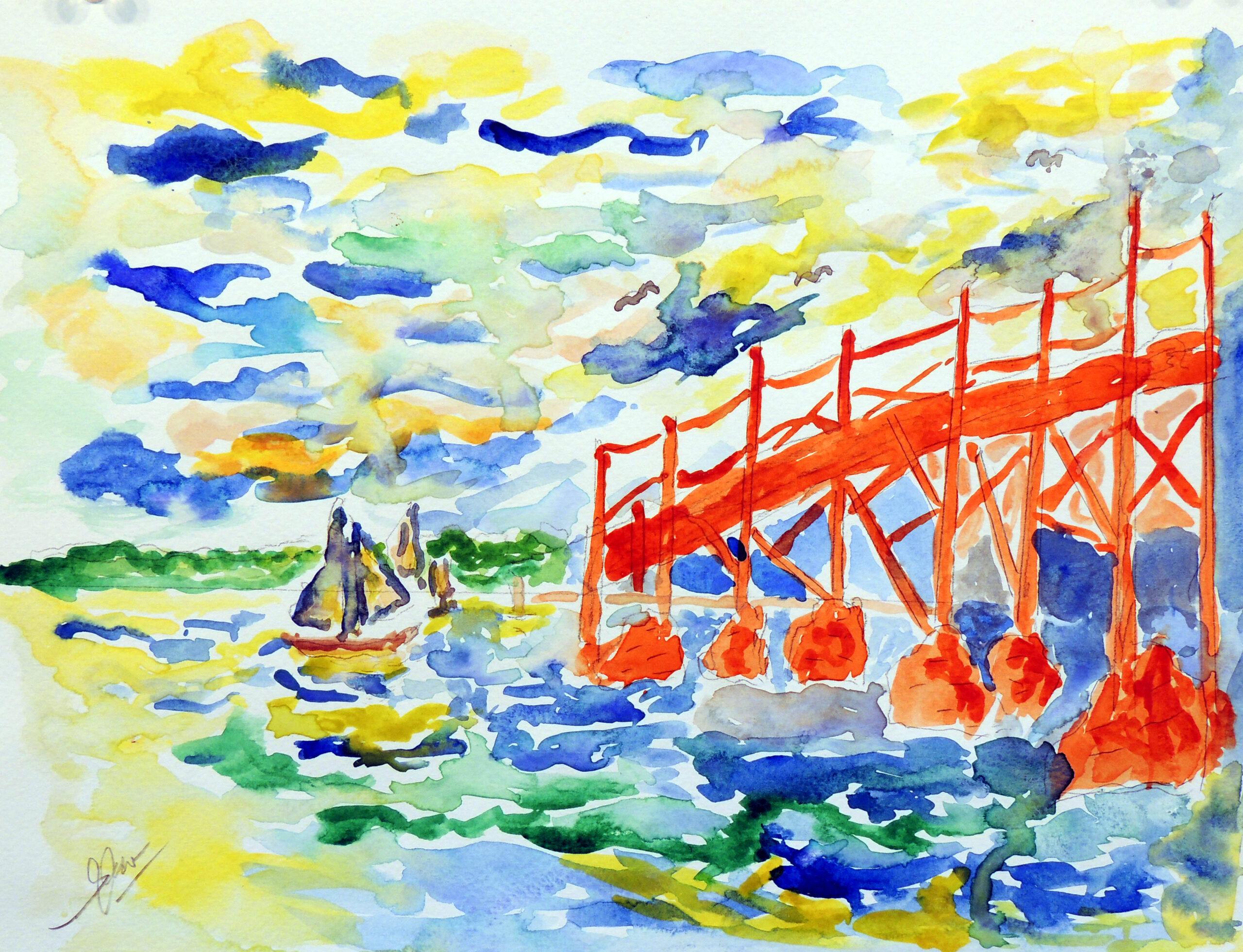 The Beautiful Bay by Robert Sok