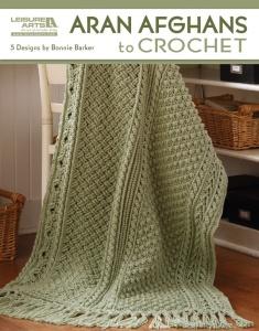 Aran Afghans To Crochet - LeisureArts