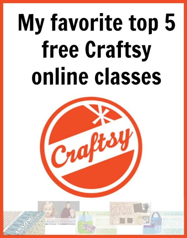 My favorite top 5 free Craftsy online classes