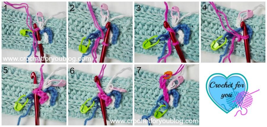 Crochet Braided Chains Headband or Ear Warmer – free pattern